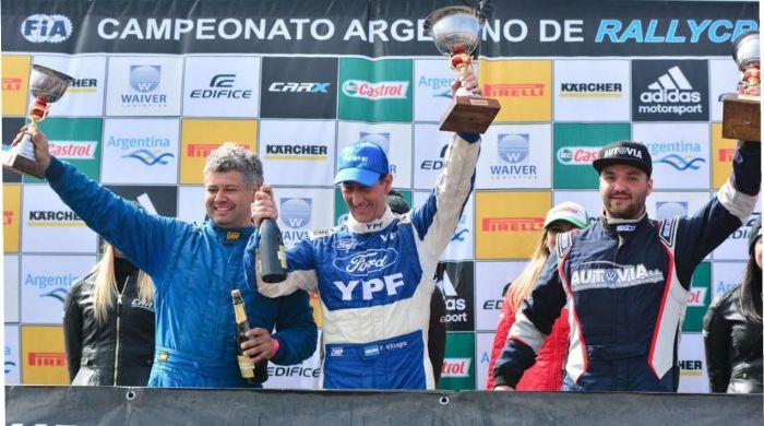 D'Agostini ganó en la Copa Maxi Rally y fue escolta de Villagra