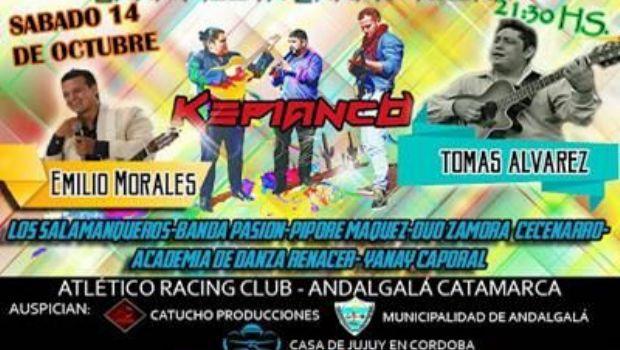 Gran fiesta carnavalera en Andalgalá