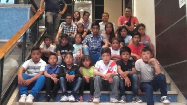 Alumnos de Belén visitaron el Cine Teatro Catamarca