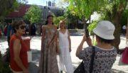 Intensa actividad de la Reina del Poncho en San Juan