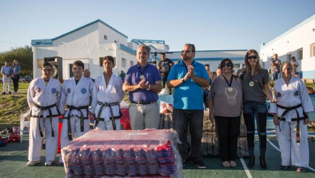 Exitoso encuentro deportivo en el CIC Norte