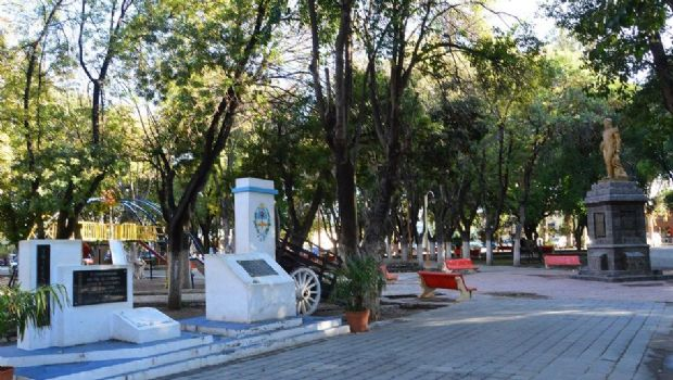 Obra de mejoramiento de la Plaza Gral. Manuel Belgrano