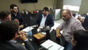 Micone se reunió con empresa minera y el intendente de Antofagasta