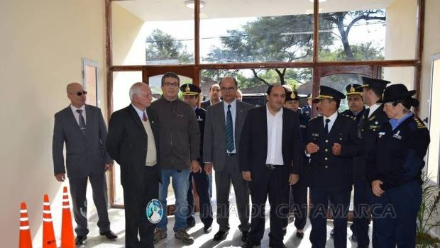 Inauguraron el nuevo edificio de la Comisaría de Villa Dolores