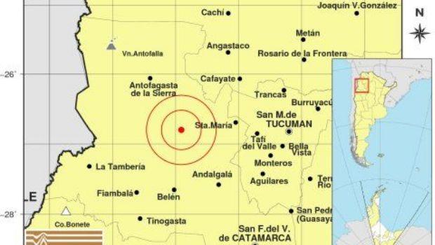 Dos fuertes sismos sacudieron Catamarca