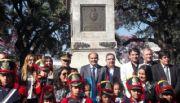 Saadi presidió el homenaje oficial al General San Martín