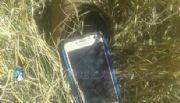 Recuperan en un descampado un celular robado
