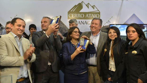 Lucía recibió un testigo de Cerro Atajo