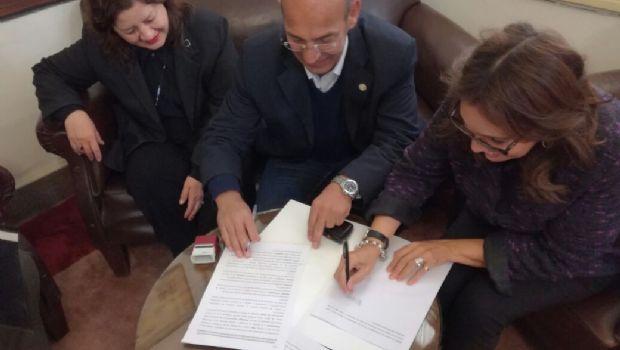 Decanos de Tecnología y Humanidades firmaron convenio