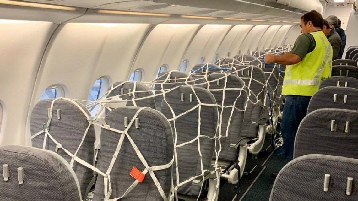 Así viaja el avión de Aerolíneas Argentinas a China - Catamarca Actual