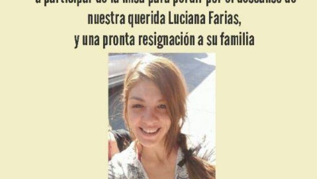 Misa por Luciana Farías