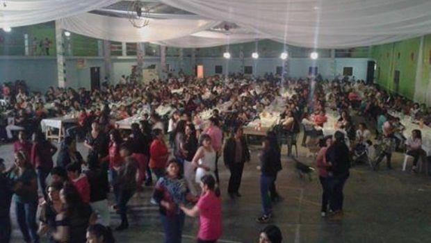 Festejos por el Día de la Madre en Aconquija
