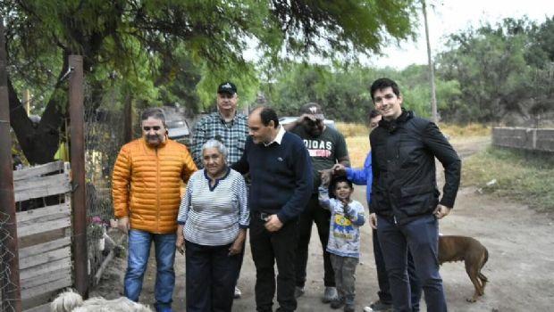 Jalil supervisó la ejecución de programas en barrios de Capital