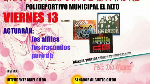 Gran festejo para las madres en El Alto