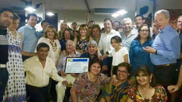 Mirian Juárez recibió un emotivo homenaje