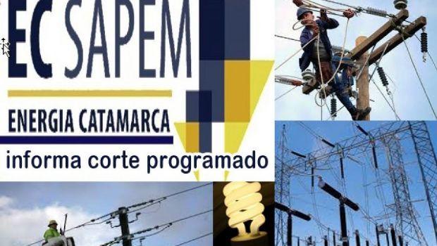 Este viernes, corte de energía programado en FME y Ambato