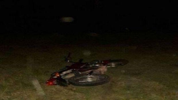Motociclista chocó con un caballo en Fray Mamerto Esquiú