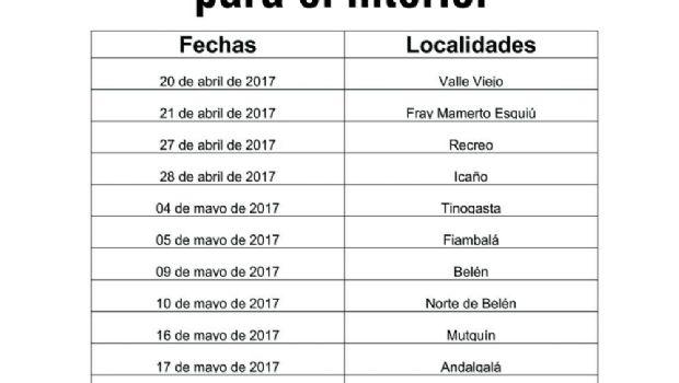 Renuevan carnet de OSEP en Valle Viejo y FME