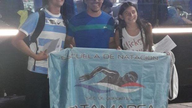 Nadadores catamarqueños al torneo República