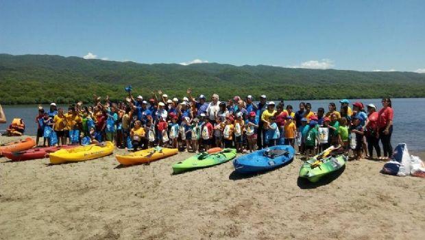 Encuentro regional y provincial de Kayak en Alijilán