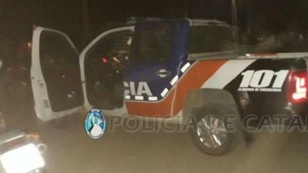 Madrugada salvaje en Villa Cubas: Golpeó a una joven y su bebé de 3 meses