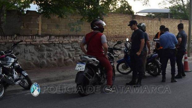 Otros dos infractores se quedaron sin moto