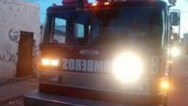 Incendio en una despensa del sur de la Capital