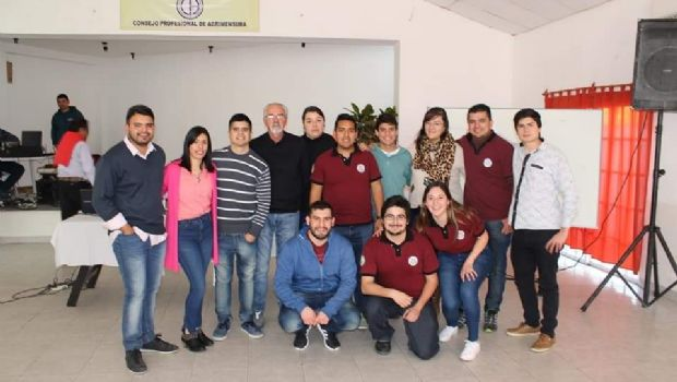 La comisión de estudiantes de Agrimensura cumple 25 años