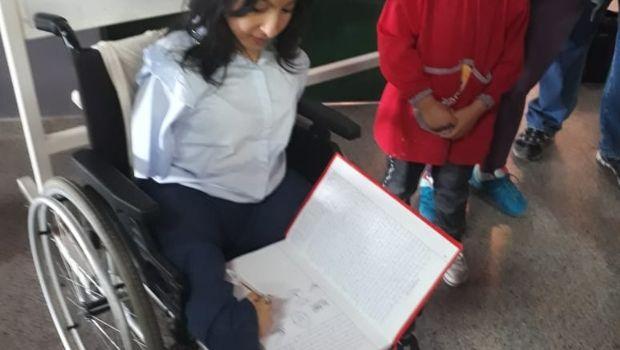 Celeste Moya en El Alto