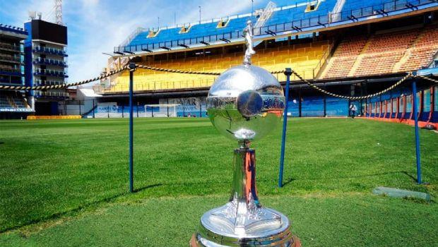La Copa Libertadores ya llegó a La Bombonera