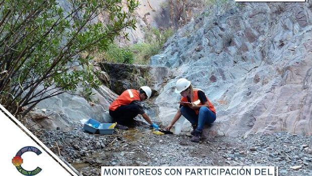 Monitoreos ambientales en Bajo La Alumbrera y Agua Rica