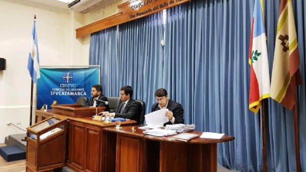 Concejales aprobaron el Presupuesto del CD y varios proyectos