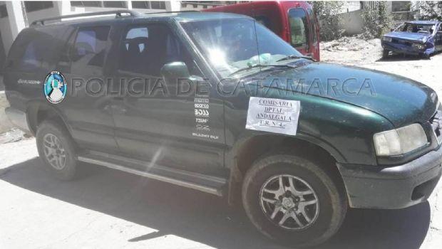 Secuestran 120 Kg. de rodocrosita en Andalgalá: Hay cinco detenidos
