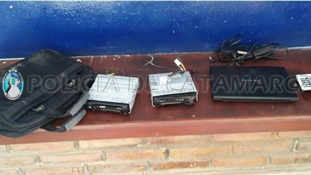 Recuperan un celular robado en Valle Viejo