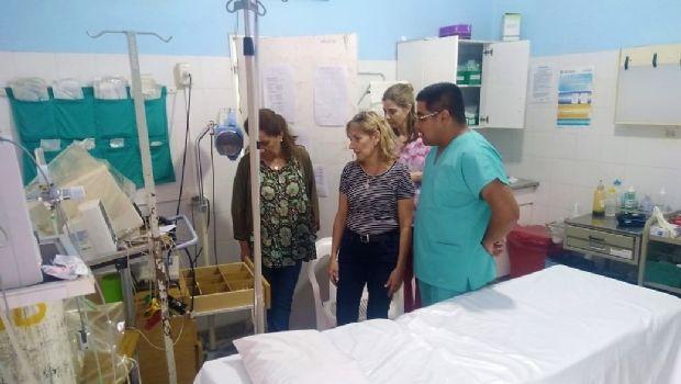 Entrega de equipamientos en el Hospital de Belén