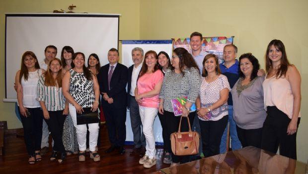 """Firmaron convenio para la continuidad del programa """"Escuelas Saludables"""""""