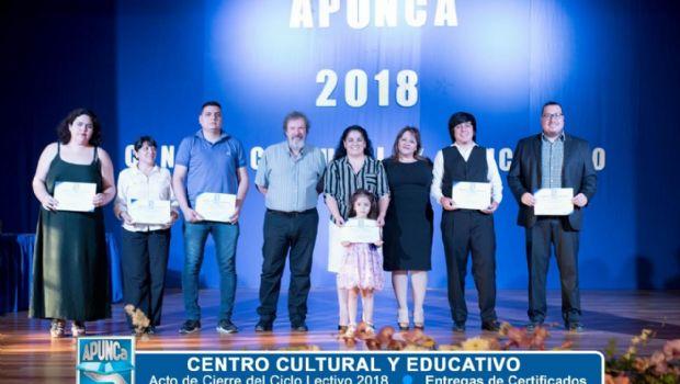 Exitoso cierre de año del Centro Cultural y Educativo de APUNCa