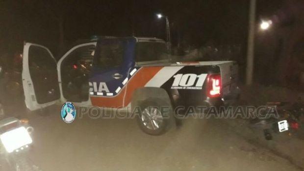 Choque con daños materiales en Valle Viejo