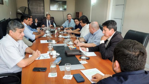 Reunión de senadores del bloque FPV-PJ