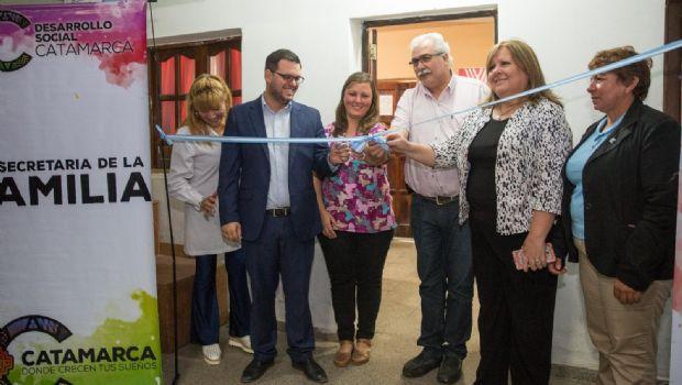 Se inauguró un nuevo Servicio Local de Protección de Derechos