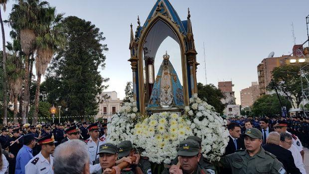 Imponente muestra de amor a la Virgen del Valle