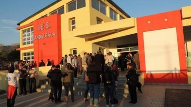 Semana de protesta en el IES Andalgalá