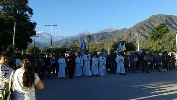 Procesión en Andalgalá
