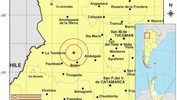Dos temblores en el domingo
