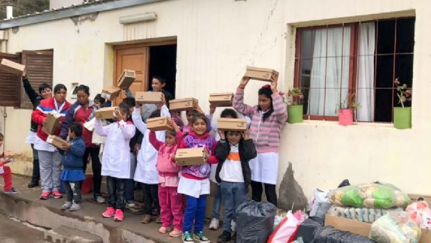Misión solidaria de empleados del Senado en Ampujaco