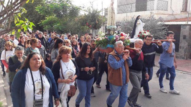Fiestas de la Virgen de Fátima en el 101° aniversario de su coronación