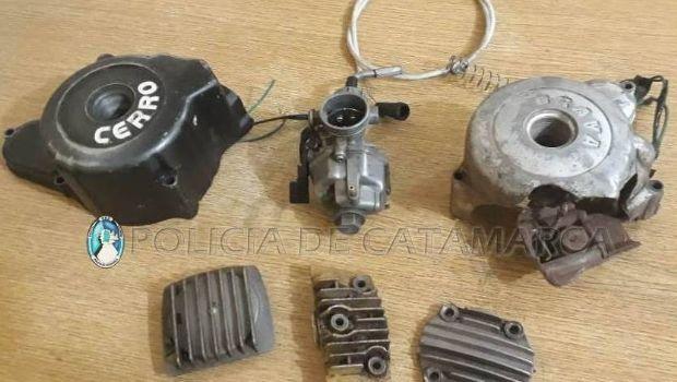 Encontraron elementos robados en un taller mecánico en Tinogasta