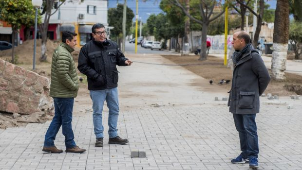 Avanza la recuperación de la plaza de Villa Cubas