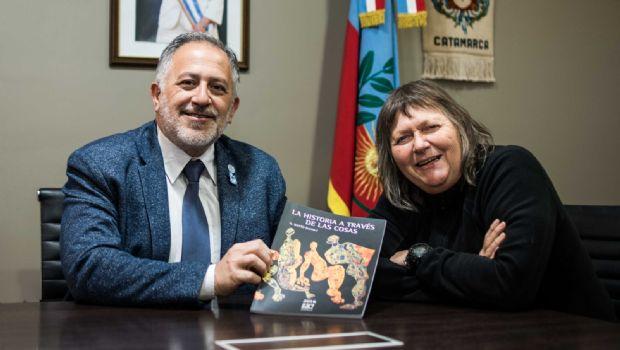 Solá Jais recibió a reconocida antropóloga