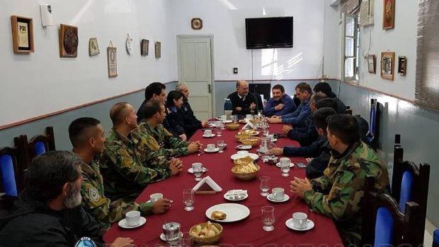 Reconocieron la labor de efectivos de Kuntur por el rescate en Aconquija